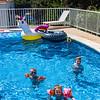 Fun around the pool