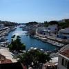 The harbour in Ciutadella