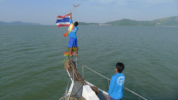 Sailing the Mergui Archipelago in Myanmar