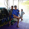 A few of our Burmese crew members. They were so kind and courteous and very professional in how they handled the ship and the scuba equipment.