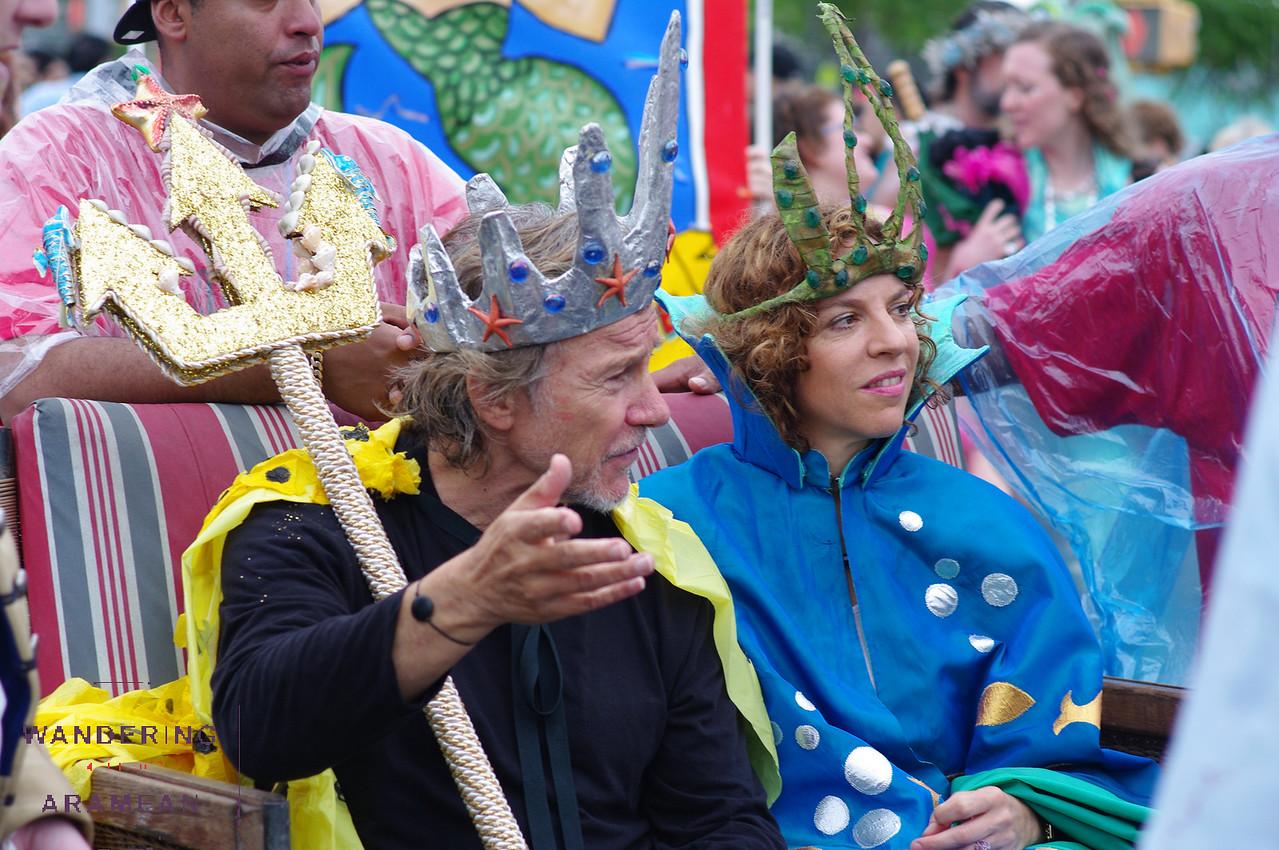 The king of the parade, Harvey Keitel