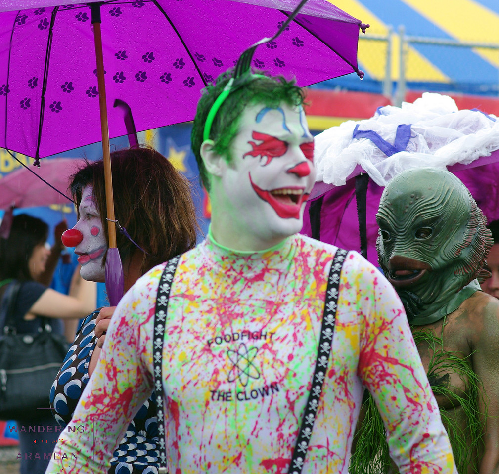 Awesome clown makeup