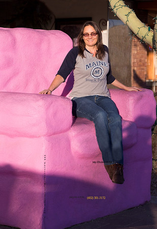 Lori in Mesa pink chair 010314 4172