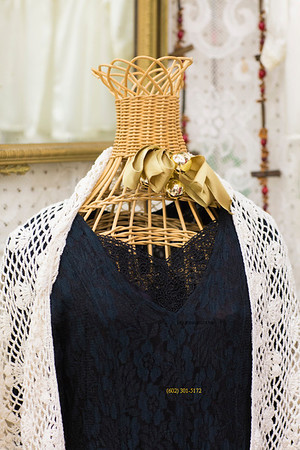 Lace on wicker manequin 4031