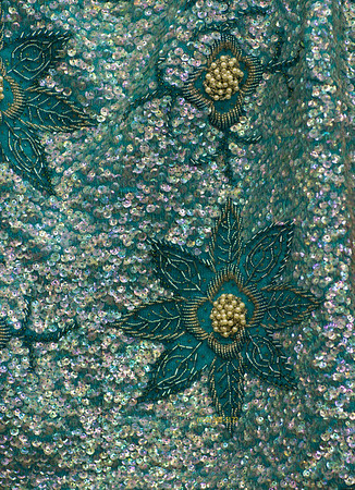 Sequin fabric 4034