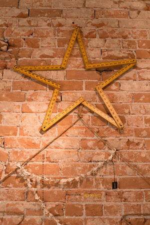 Ruler star on rope tree & brick 4183