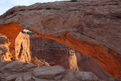 Sunrise, Mesa Arch, Canyonlands National Park