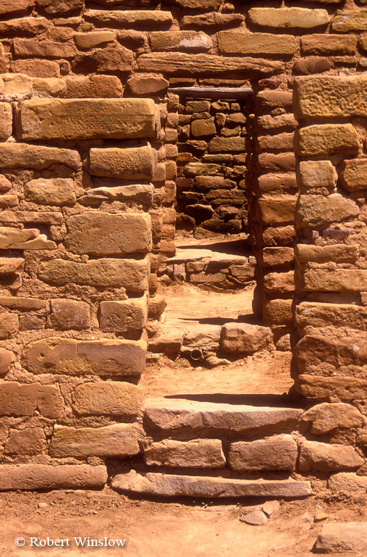 Three Doorways, Far View Site, Ancestral Pueblo Dwelling, Mesa Verde National Park, Colorado, USA, World Cultural Heritage Site