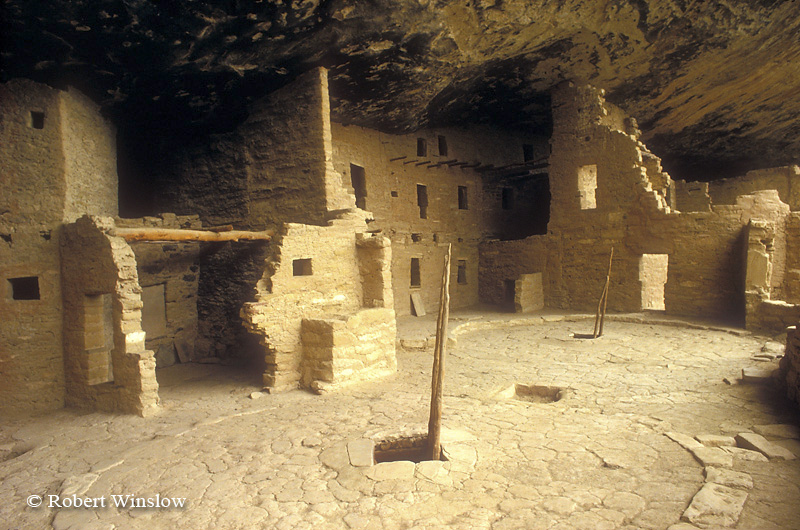 Spruce Tree House, Ancestral Pueblo Dwelling, Mesa Verde National Park, Colorado, USA, World Cultural Heritage Site