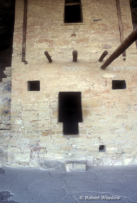 T-Shaped Doorway, Balcony House, Ancestral Pueblo Dwelling, Mesa Verde National Park, Colorado, USA, World Cultural Heritage Site