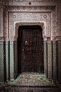Intricate Beauty of Marrakech's doors