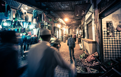 Marrakech's Medina Chaos