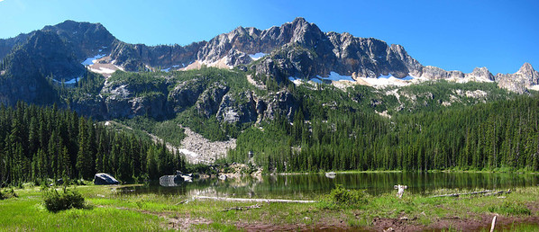 Cutthroat Lake Panorama