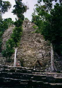 Coba, Mexico - another pyramid