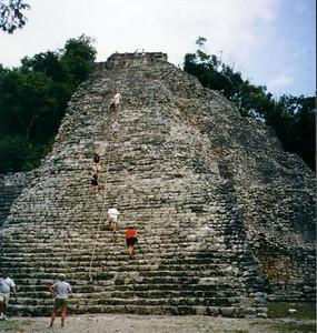Coba, Mexico - Pyramid
