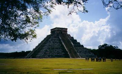 Chichen Itza, Mexico - El Castillo Pyramid
