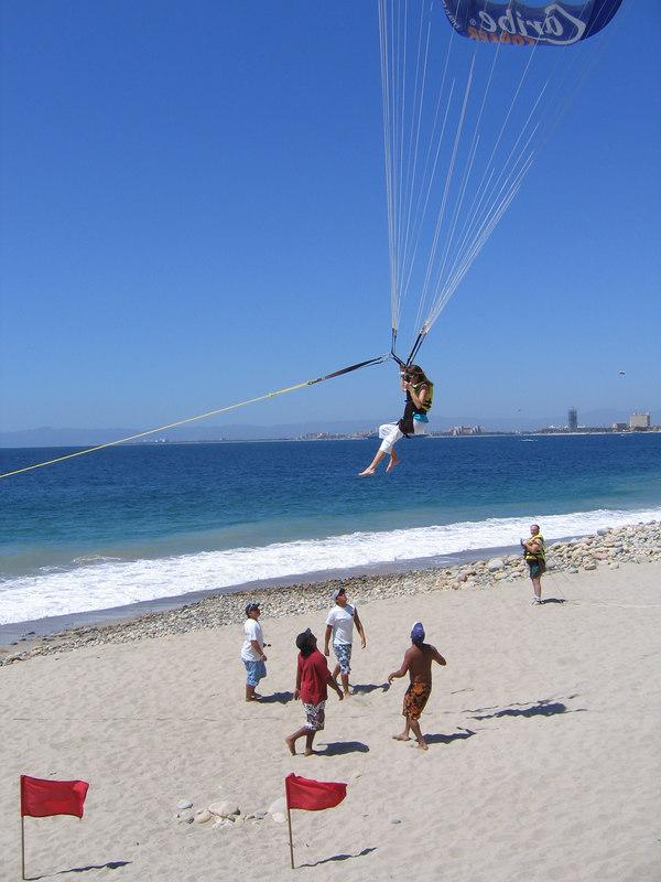 Puerto Vallarta -- landing sequence.