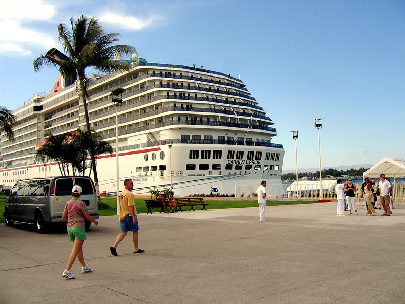 Puerto Vallarta -- that is not our ship. That's the Carnival Pride.