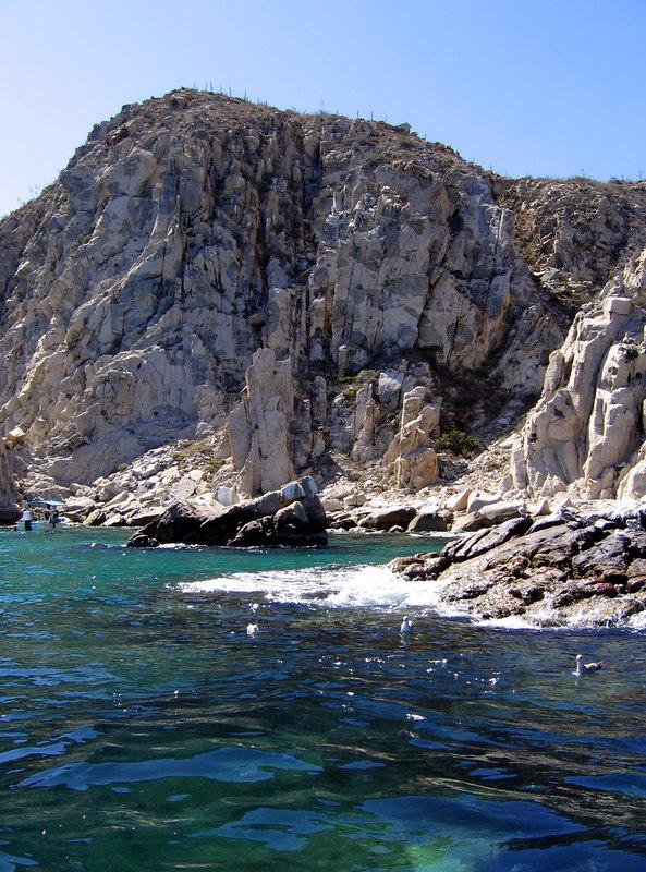 "Boat tour of ""los archos"" at Cabo San Lucas"
