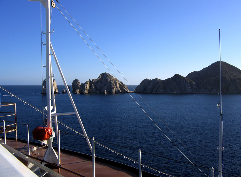 Cabo from the ship.