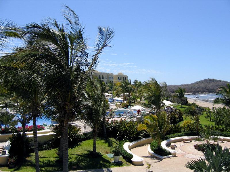 Mazatlan -- Pueblo Bonito resort.