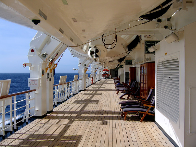 The Promenade Deck, deck 3.
