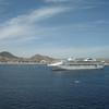 +Princess ship in Cabo San Lucas harbour
