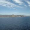 Sailing into Cabo San Lucas