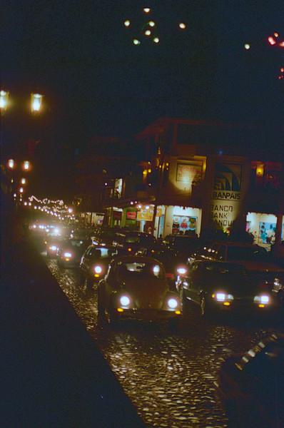 PV Street Scene at night