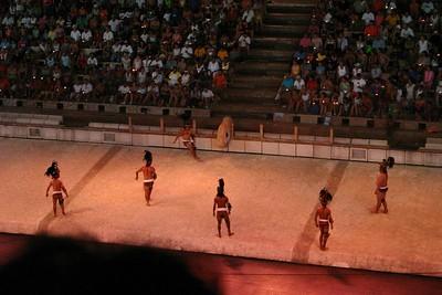 Maya ball game