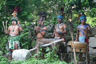 Maya warriors