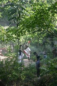 Maya ceremony