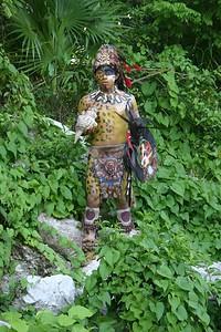 Maya warrior