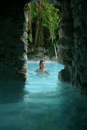 San Miguel La Gruta Hot Springs