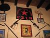 Homage to Zapatistas at restuarant in San Cristóbal de las Casas