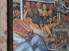 """Detail from Diego Rivera's mural """"Epic of the Mexican People in their Struggle for Freedom and Independence"""" in the Palacio Nacional"""
