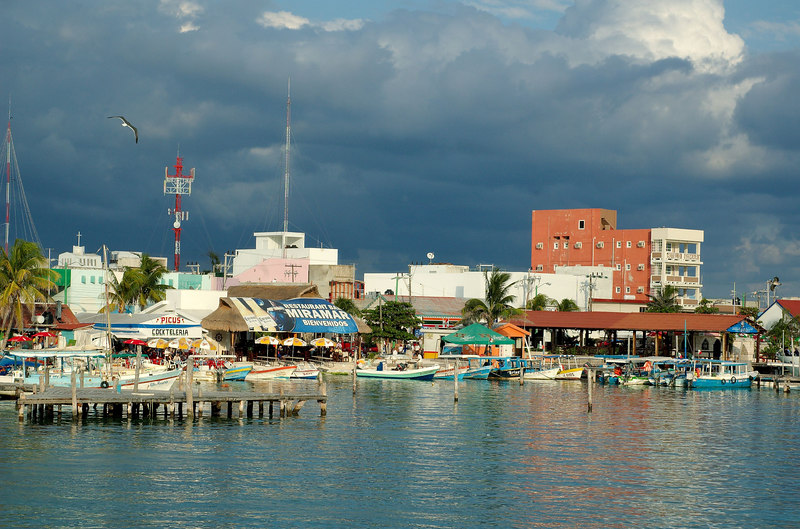 Downtown Isla Mujeres