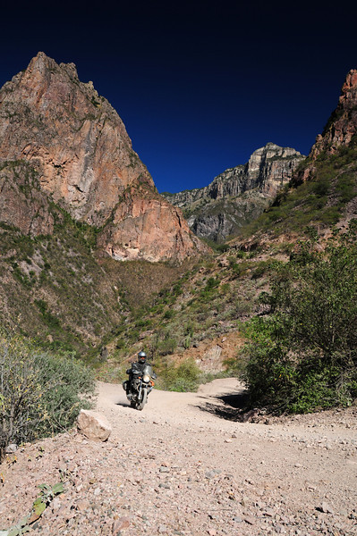 Nick Jones,  Road to Batopilas,  Copper Canyon