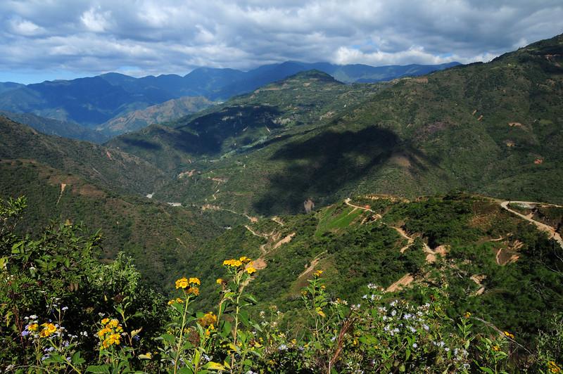 North of Santo Domingo Yojovi(?) on the 'Road to Nowhere',  Sierra Madre de Oaxaca (?)