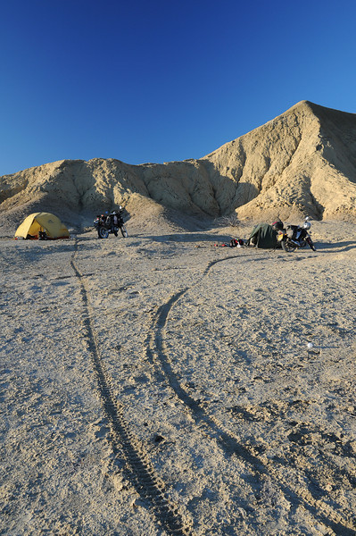 Bush camping , Punta San Francisquito,  Baja California