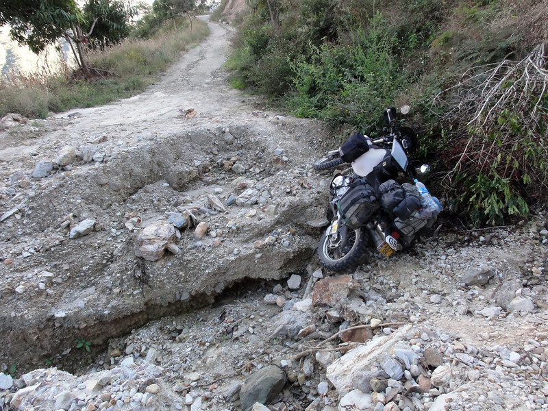 Stuck on the 'Road to Nowhere'. Sierra Madre Oaxaca(?)