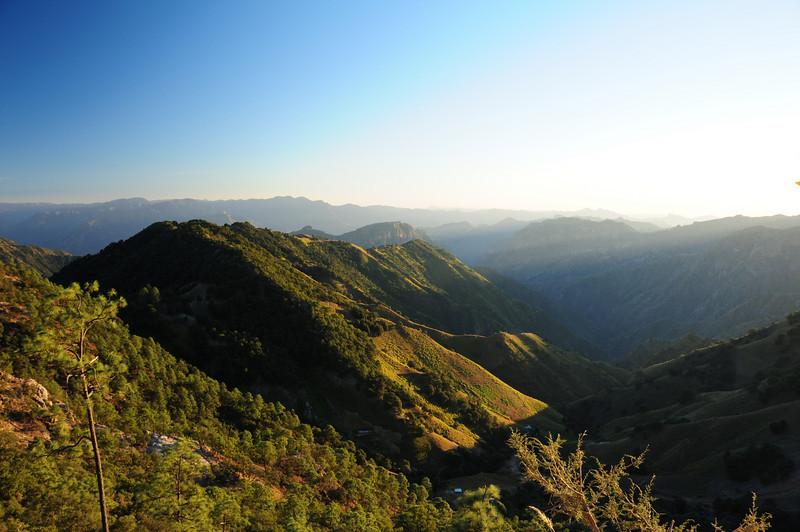 Piedras Verdes to Mesa de Arturo road.  Copper Canyon