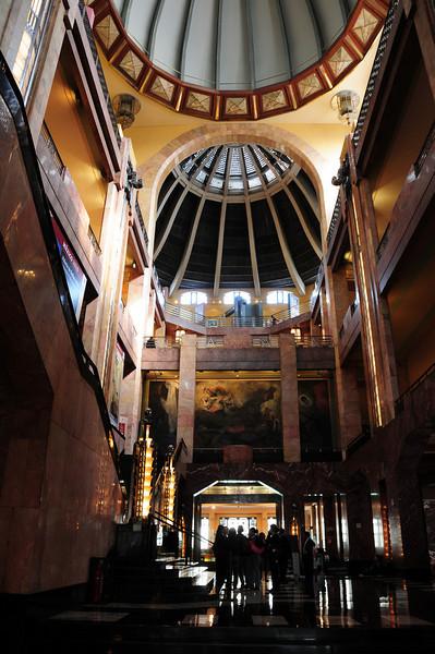 Palacio Bellas Artes,  Mexico City