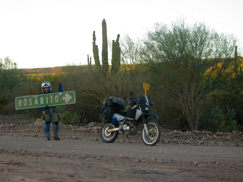 Road to Rosarito,  Baja California