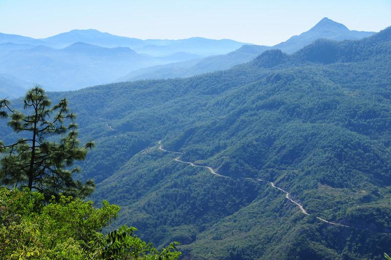 The road I can't reach. nr Zoochina, Sierra Madre de Oaxaca (?)