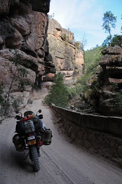 Cuiteco to San Rafael road,  Copper Canyon