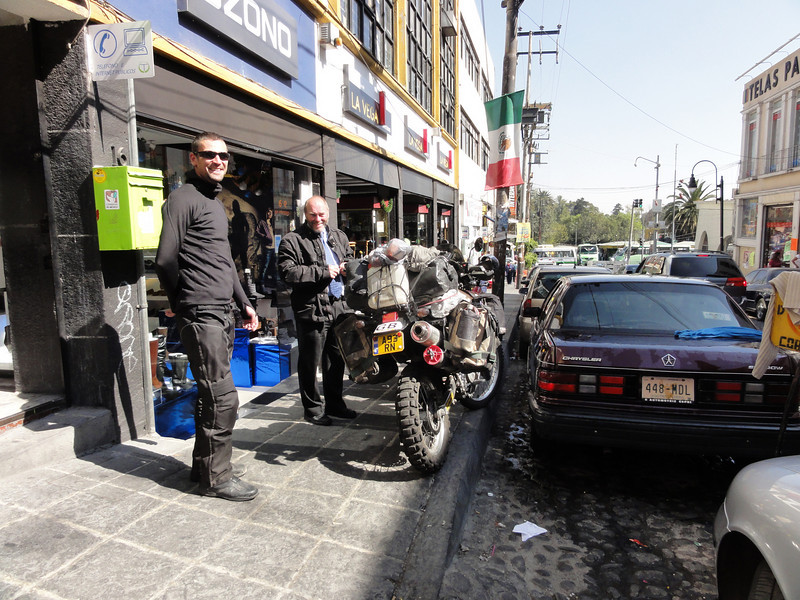 Post Office parking,  Mexico City