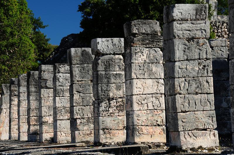 Templo de losGuerreros,  Chichen Itza