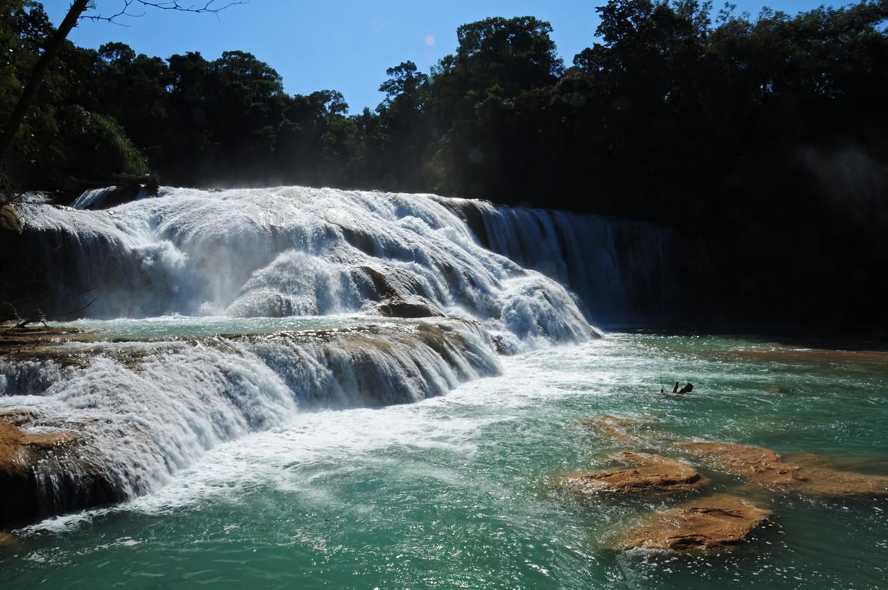 Agua Azul,  nr Palenque