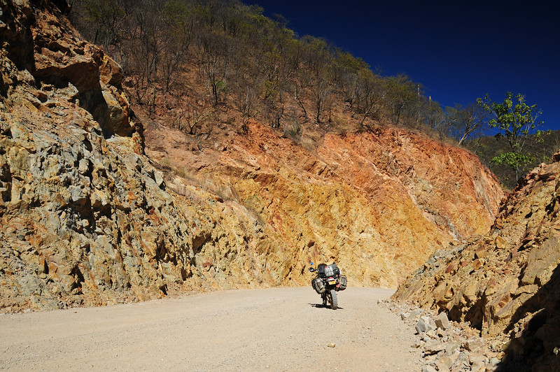 Choix to Tubares road,  Copper Canyon